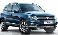 VW Tiguan по ценам 2014 г.