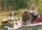 Фото девочки с медведем возмутило интернет