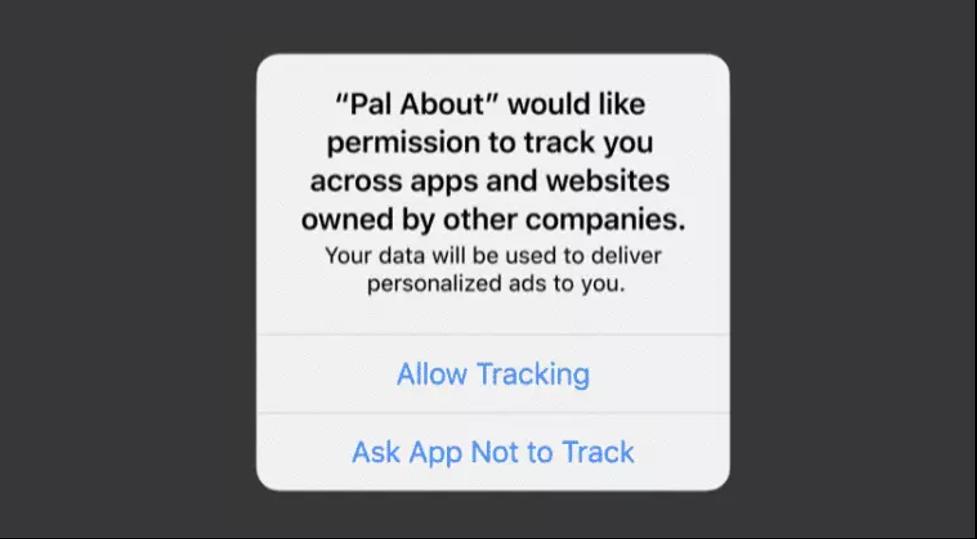 IDFA permission request alert in iOS 14.5