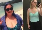 Женщина похудела на 77 кг, чтобы родить