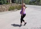 Совмещаем танцы и большой живот (видео)