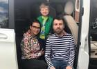 Бледанс отдала сына бывшему мужу