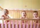 Обычные будни мамы тройни